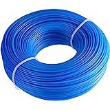 "FEPITO Weed Wacker Eater String RoundCut .065"" Trimmer Line Nylon String Trimmer Line .065"" X 328ft - Blue - RoundCut"
