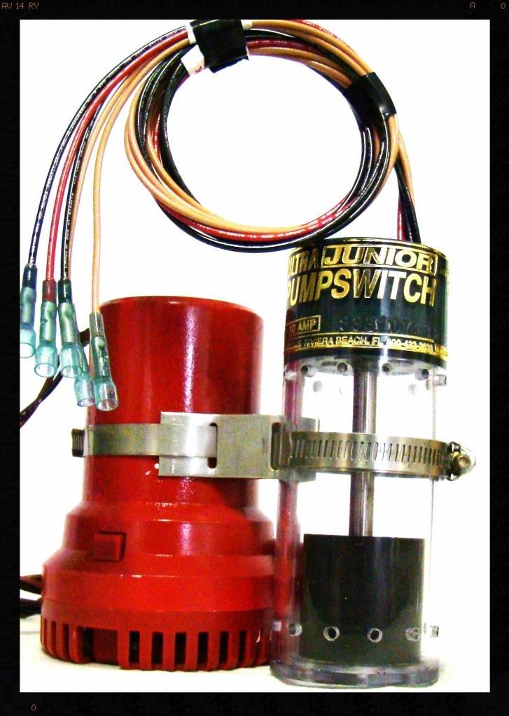 Ultra Safety Systems Pump Switch Jr. UPS-02-12 V Float Switch Bilge Pump Switch UPS-02 12 VDC.