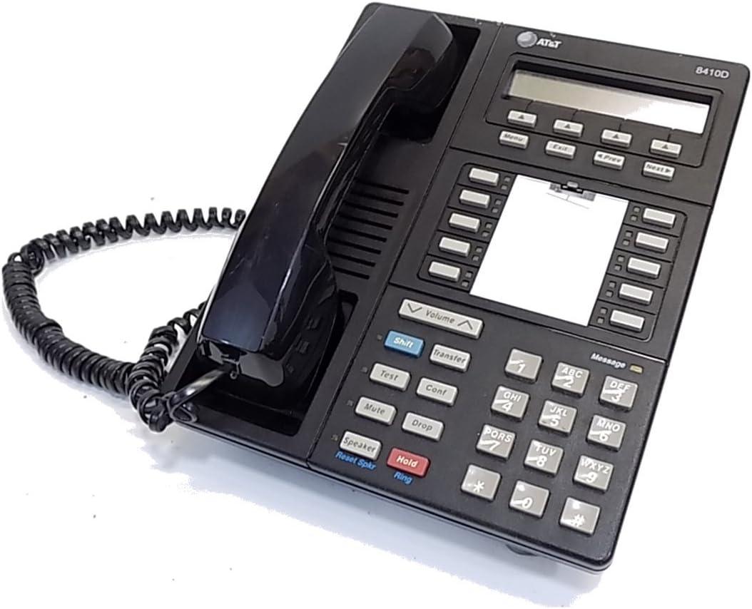 Avaya 8410D Phone Black (Renewed)