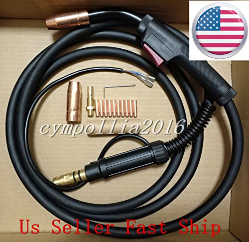 US SELLER,MIG WELDING GUN &TORCH 10' 180AMP replacement for LINCOLN Magnum 100L K530-5 (ETA: 2-8 WORK DAYS) by CYMPOLLIA2016