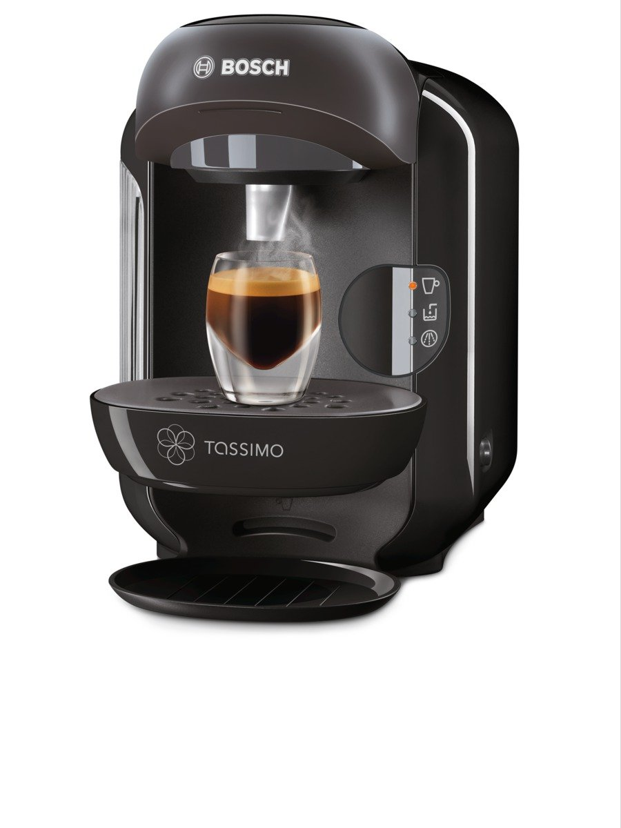 bosch tassimo vivy hot drinks and coffee machine 1300 w black ebay. Black Bedroom Furniture Sets. Home Design Ideas