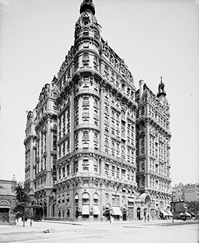 Nyc The Ansonia 1904 Nthe Ansonia Apartment Building On Broadway In New York City Built In 1899 Photograph C1904 Poster Print by (24 x 36)