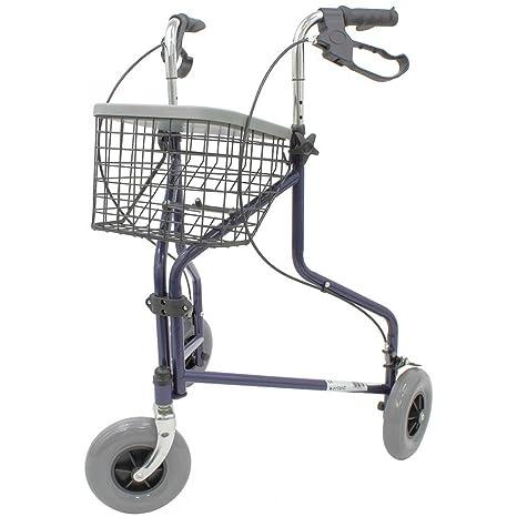 Andador caminador con ruedas Delta Ortaid: Amazon.es: Salud y ...