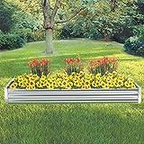 Kotulas Galvanized Steel Raised Garden Bed — 8ft. x 3ft.