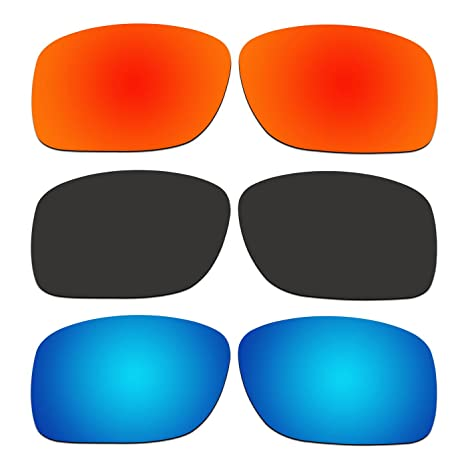5a319bb2104e Image Unavailable. Image not available for. Color: ACOMPATIBLE 3 Pair  Replacement Polarized Lenses for Oakley Turbine XS (Youth Fit) Sunglasses  OJ9003