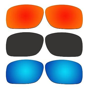 aCompatible 3 par lentes polarizadas de recambio para Oakley Turbine XS (juventud Fit) gafas