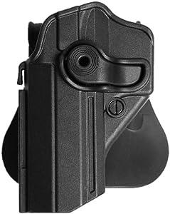 IMI-Defense Polymer Holster for Jericho/Baby-Eagle (9mm/.40), Sarsilmaz Kilinc Mega 2000, Canik 55 Shark - Left Hand