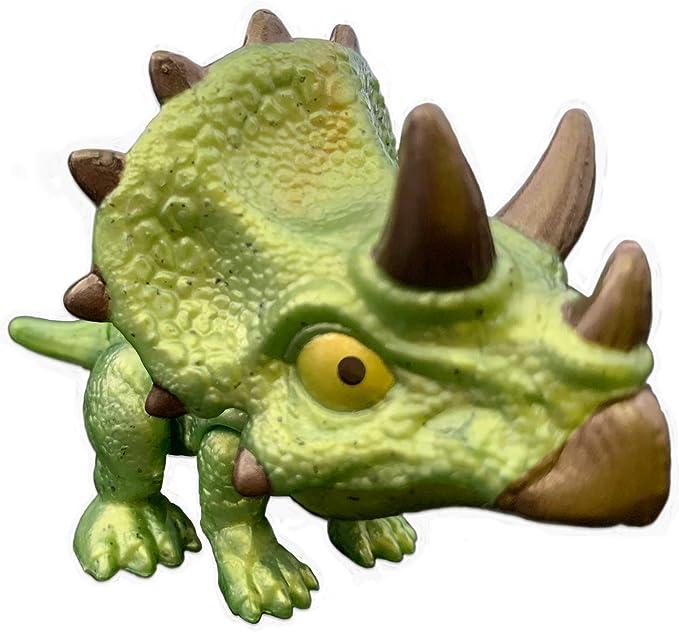 JW Mattel - Jurassic World - Snap Squad Mini Dinosaurios (Triceratops): Amazon.es: Juguetes y juegos