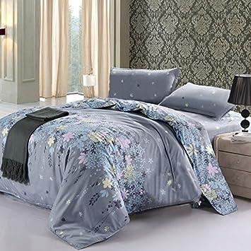 Amazon.com: Vaulia Lightweight Microfiber Duvet Cover Sets, Floral ...
