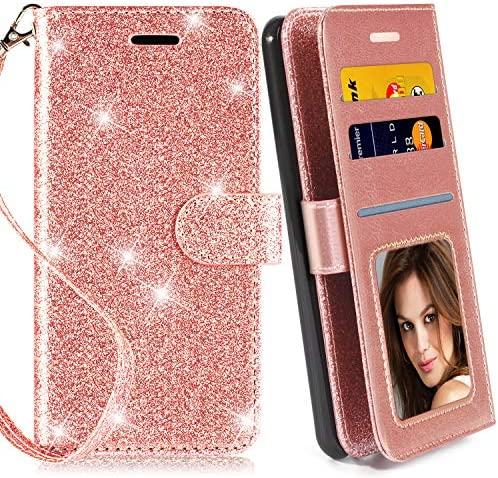 Protector Leather Glitter Kickstand Samsung