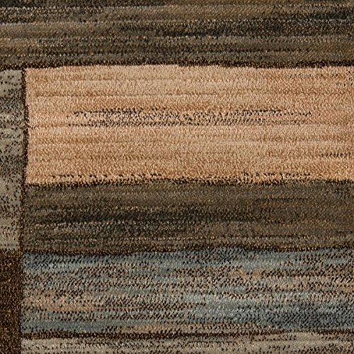Momeni Abstract Rug (Momeni Rugs DREAMDR-04BRN5376 Dream Collection, Contemporary Area Rug, 5'3