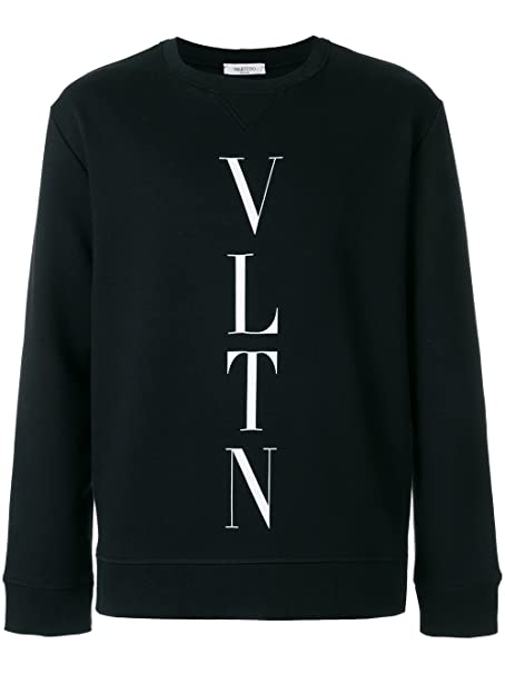 Valentino - Sudadera - para hombre Negro Talla de marka XL: Amazon.es: Ropa y accesorios