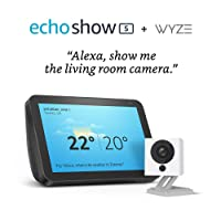 Amazon.com deals on Amazon Echo Show 5 with Wyze 1080p indoor Smart Home Camera