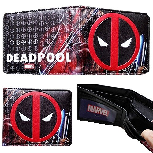 Marvel Deadpool Graphix – Cartera, 2 pliegues