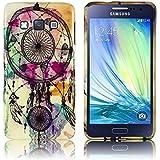 Samsung Galaxy A3 2015 Silikon-Hülle Traumfänger (nicht für A3 2016) weiche Tasche Cover Case Bumper Etui Flip smartphone handy backcover thematys®