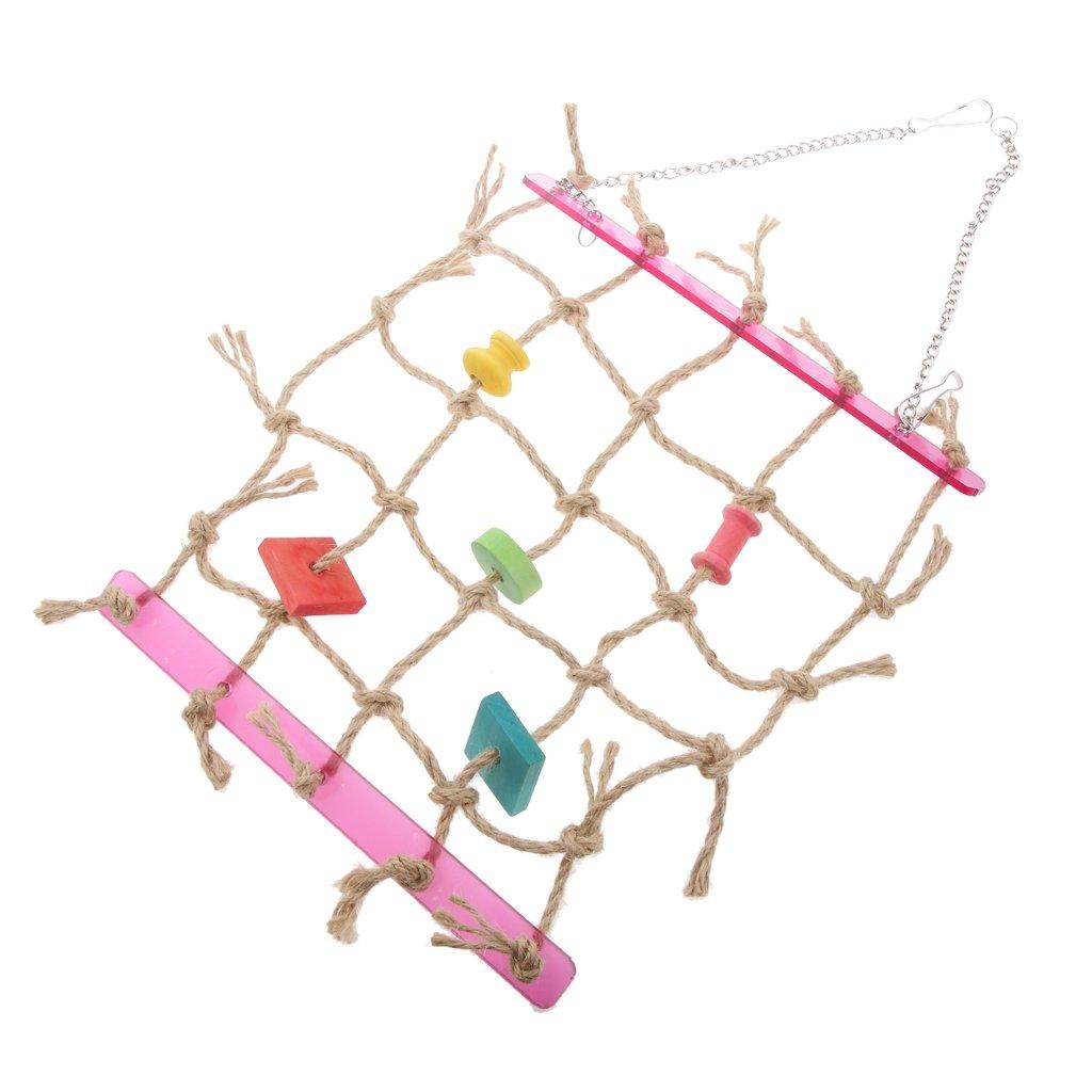 Balançoire Filet de Corde Echelle d'Escalade Jouet Perroquet Oiseau Generic