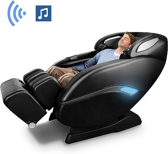 Amazon.com: Silla de masaje OOTORI, SL-Track 3D Robert Zero ...