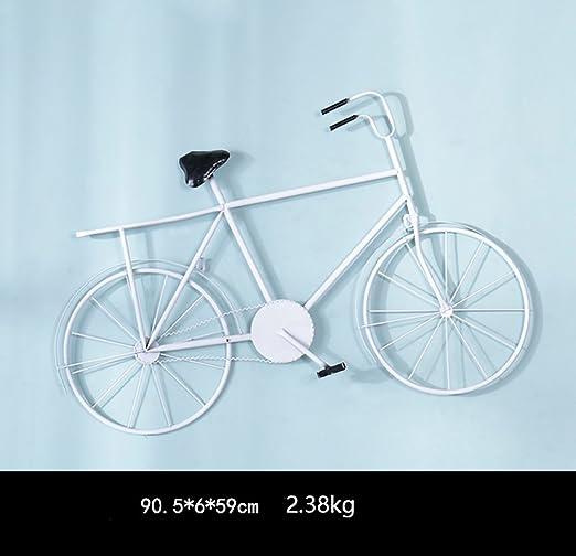 QBZS-YJ Decoración de la Pared Estilo de la Bicicleta Hogar ...