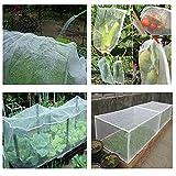 ZeeDix Garden Bug Net Insect Barrier Netting White