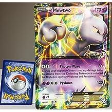 Pokemon XY Promo Card Holo Rare Mewtwo EX XY183 JUMBO CARD
