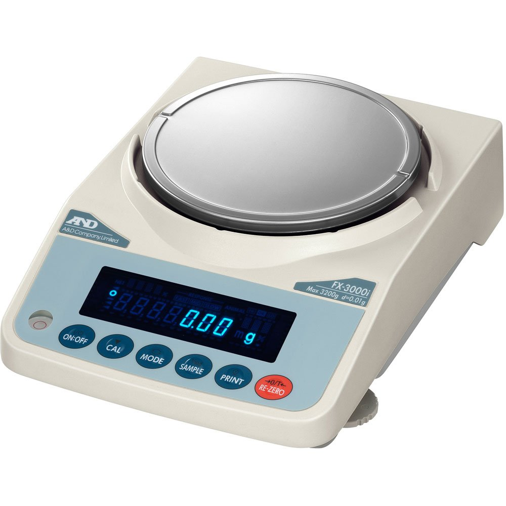 A/&D Weighing FX-3000iN NTEP Tploading Balance 3200g x 0.1g