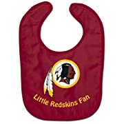 WinCraft NFL Washington Redskins WCRA2049914 All Pro Baby Bib