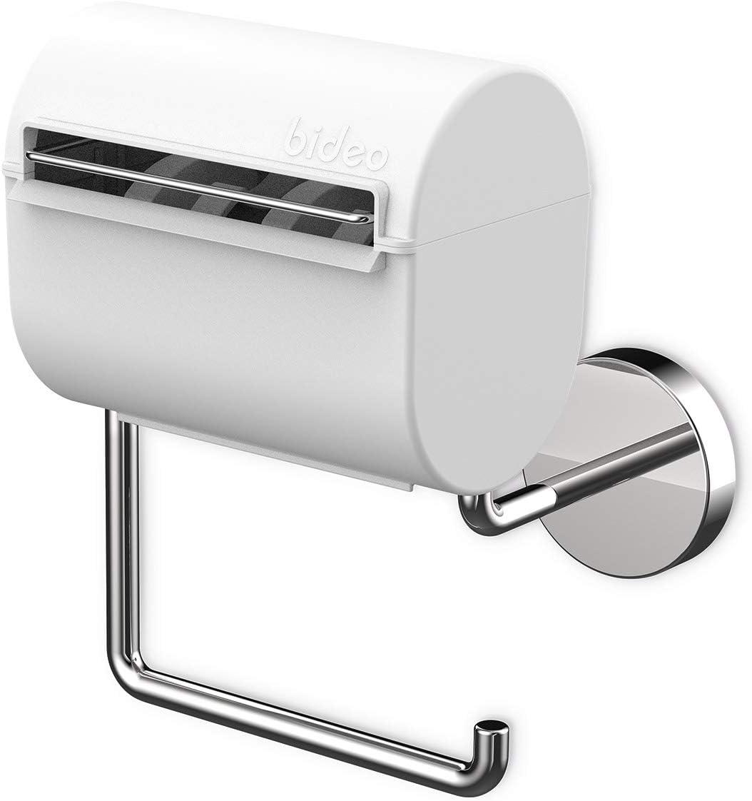 bideo.one – Toilettenpapierhalter mit Befeuchtungsfunktion