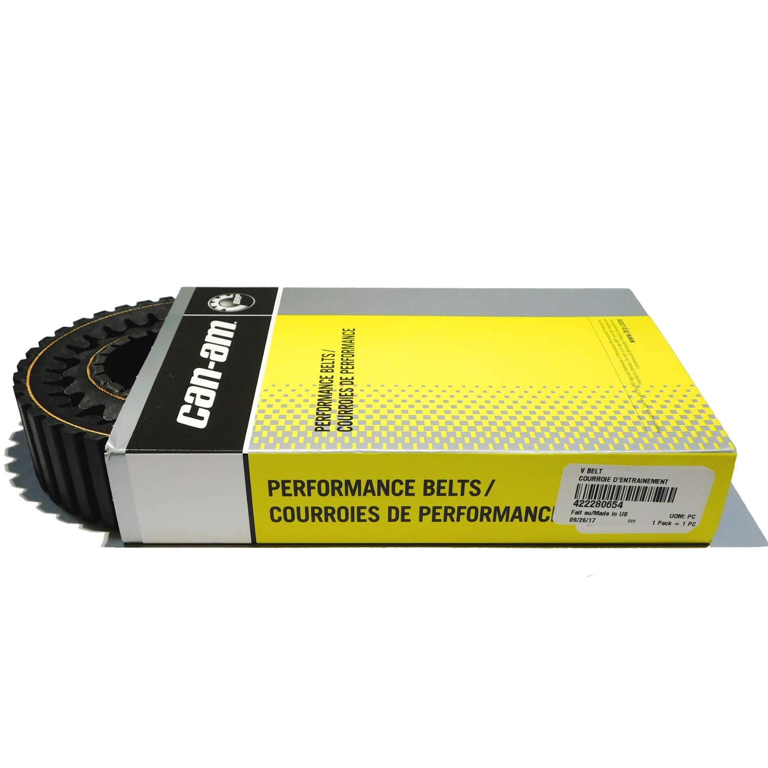 Can Am Maverick Trail and Maverick Sport and Sport Max high performance drive belt OEM NEW #422280654 Can-Am