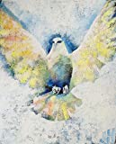 ''Holy Spirit Comes III'' by Janet Hyun (Stretched Canvas, 20'' x 24'')
