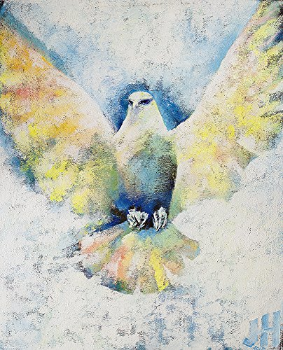 ''Holy Spirit Comes III'' by Janet Hyun (Stretched Canvas, 20'' x 24'') by Janet Hyun