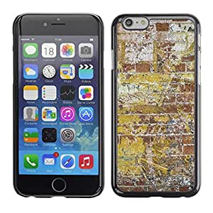 Print Motif Coque de protection Case Cover // V00002316 pared de ladrillo de la pintada // Apple iPhone 6 6S 6G 4.7""