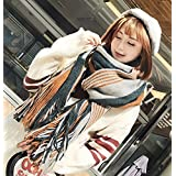 MDRW-Winter Scarf Female Students All-Match Source Scarf Winter Wind Small Fresh Long Wool Scarf