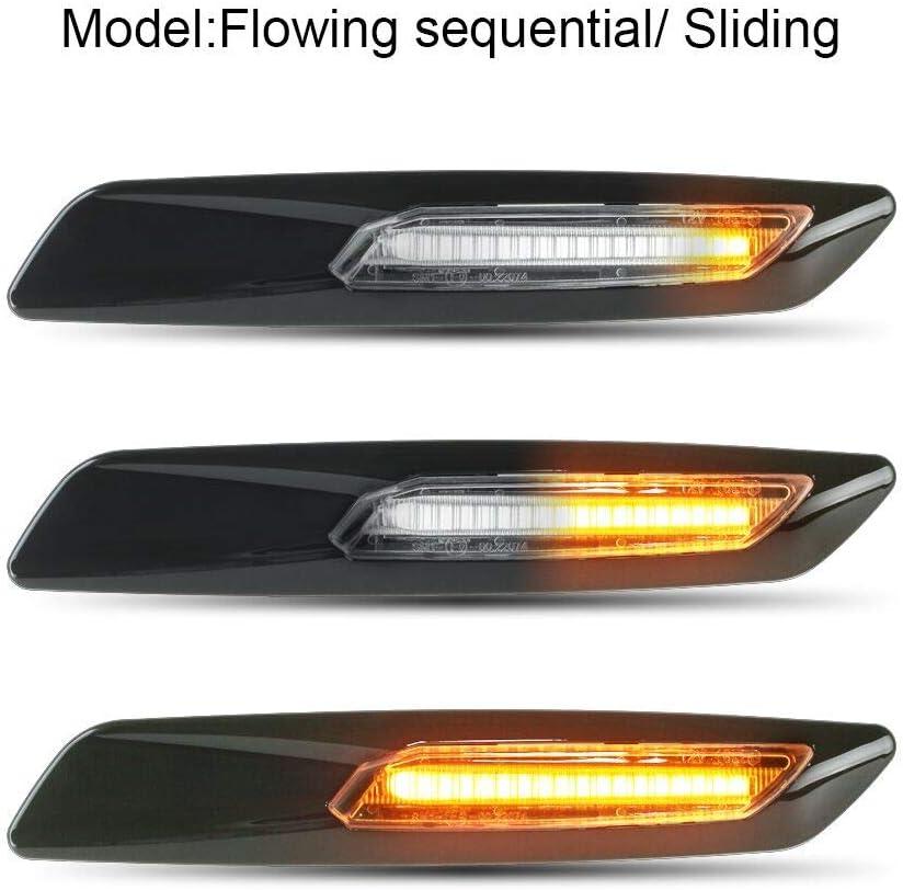 1 3 5 X Series E46 E60 E82 E90 Monland Led Dynamic Turn Signal Light Side Marker Sequential Blinker Lamp for