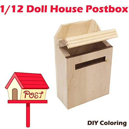 Amazon Com Gbell Letterbox Postbox Mailbox For 1 12 Mini