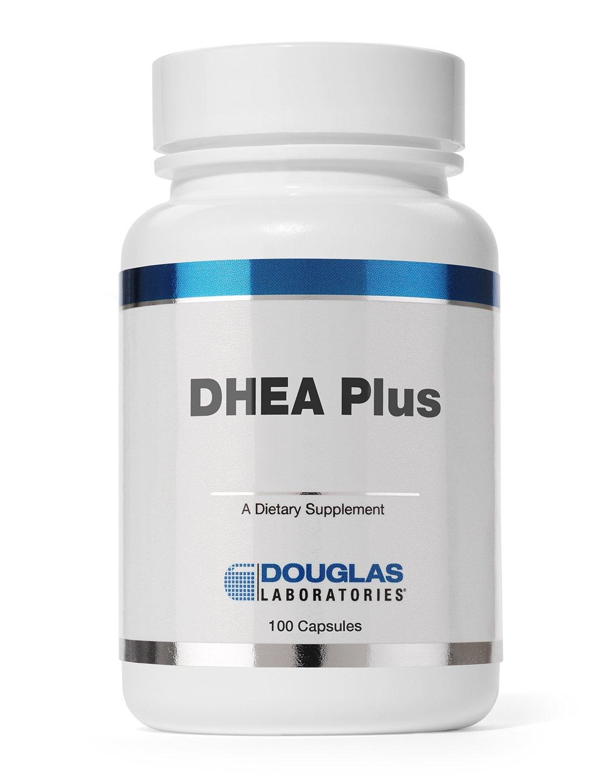 Douglas Laboratories - DHEA Plus - 25 mg. DHEA Plus Pregnenolone Supports Immunity, Brain, Bones, Metabolism and Lean Body Mass* - 100 Capsules