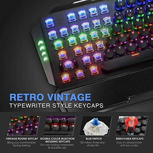 61KOzK0C2lL - Pictek Gaming Keyboard