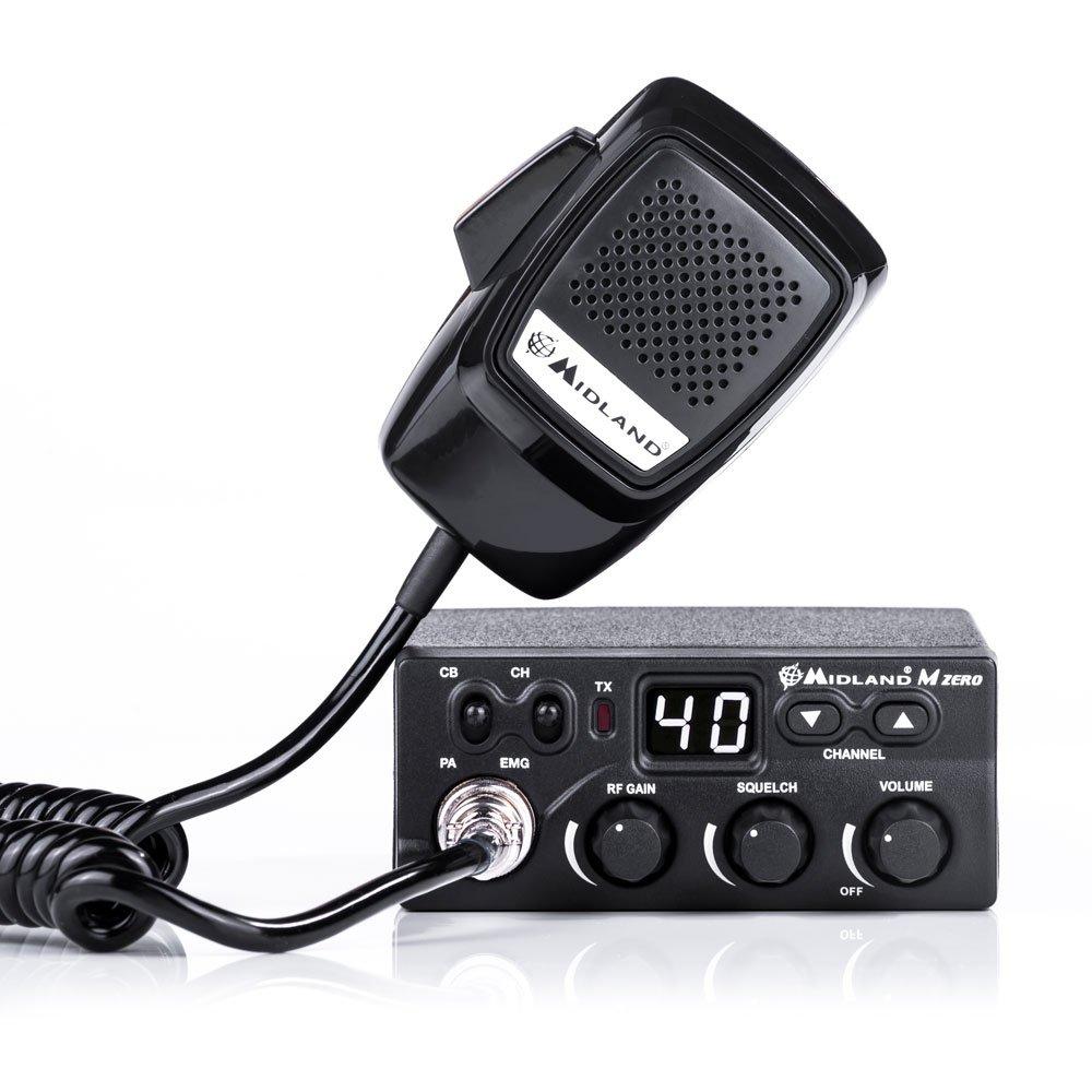Midland C1169.01 Zero Radio CB Noir