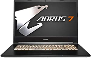 [2020] AORUS 7 (KB) Gaming Laptop, 17.3-inch FHD 144Hz IPS, GeForce RTX 2060, 10th Gen Intel i7-10750H, 16GB DDR4, 512GB NVMe SSD