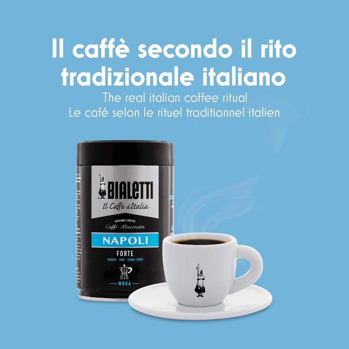 Acero Plateado Bialetti Venus Cafetera Italiana Espresso por Inducci/ón