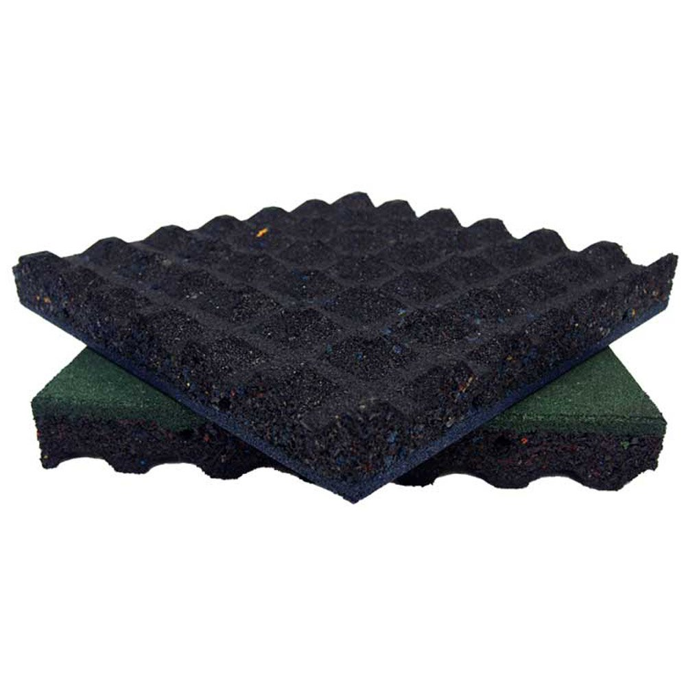 Amazon rubber cal eco safety interlocking playground tiles amazon rubber cal eco safety interlocking playground tiles 250 x 195 x 195 inch pack of 10 playground mats 28 square feet coverage black dailygadgetfo Images