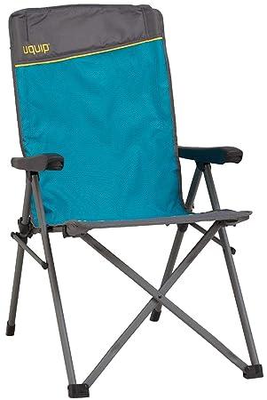 Uquip Justy Silla de Camping Plegable con apoyabrazos y ...