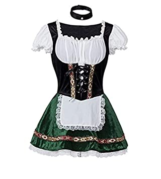Desconocido Generic Disfraz de Oktoberfest para Mujer Disfraz de ...