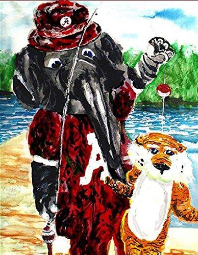 It's An Alabama Catfish - Giclee' Print - Alabama Crimson Tide - Saban ()