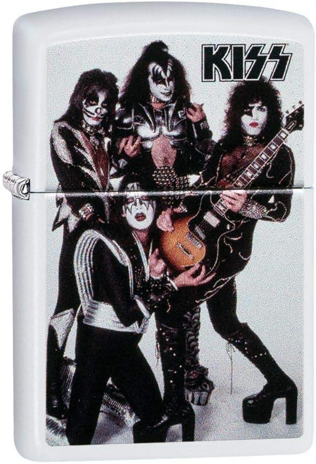 Zippo Kiss Pocket Lighter, White, One Size