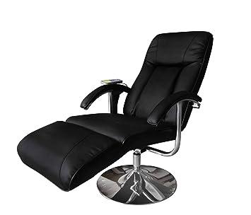Vidaxl Massage Und Relaxsessel Elektrisch Schwarz Amazonde