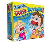 Say It Don't Spray It Party Game - The Hilarious Speak Out Mouthpiece Mouthguard Board Game - Family Edition