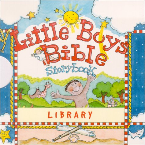 Little Boys Bible Storybook Library
