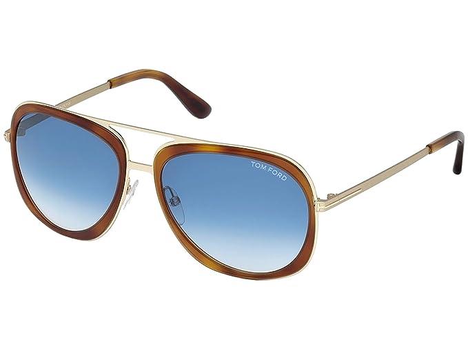 6af30e6f48 Tom Ford 56W, Gafas de Sol para Hombre, Medium Havana, 59: Amazon.es: Ropa  y accesorios