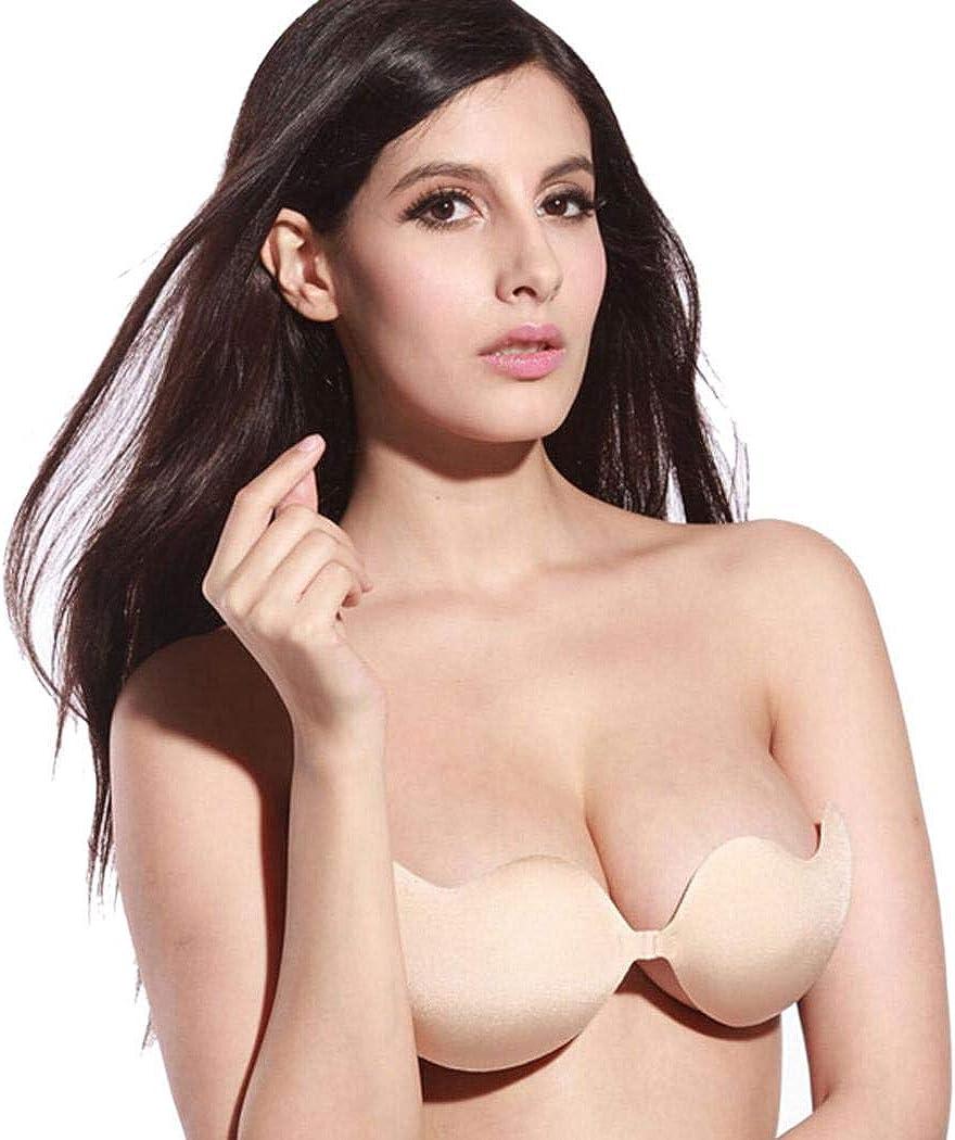Evelove Women Breast Enhancer Adhesive Bra Padding Invisible Silicone Bra Adhesive Bras
