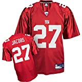 Reebok New York Giants Brandon Jacobs Replica Alternate Jersey